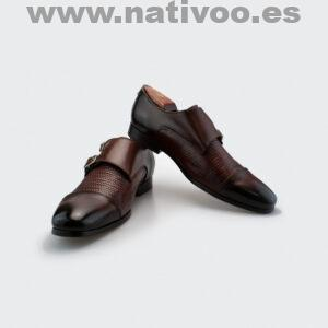 zapatos monk mujer
