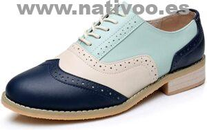 zapatos oxford mujer