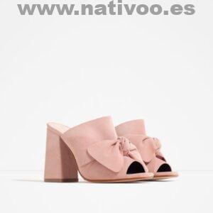 zara zapatos tacon